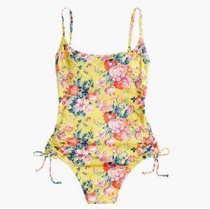 J Crew one-piece swim suit in Liberty Bouquet